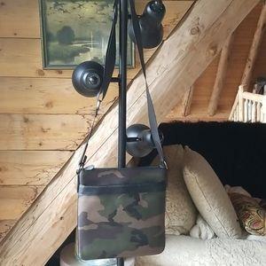 Coach camo purse/messenger bag